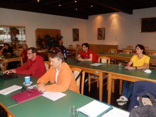 HSV Absam Vorstandssitzung