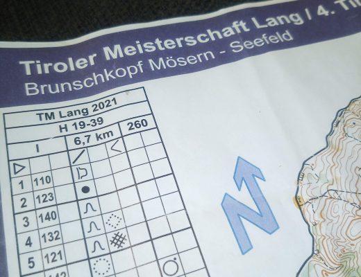 Orientierungslauf Tiroler Meisterschaft Langdistanz