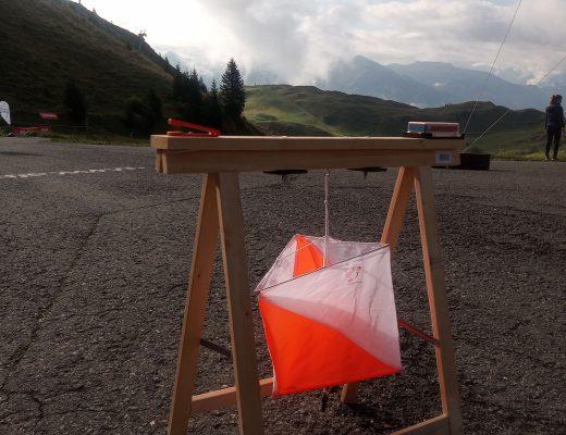 Orientierungslaufposten am Kitzbühler Horn