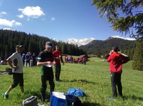 Teamfoto Relay of the Dolomites 2019