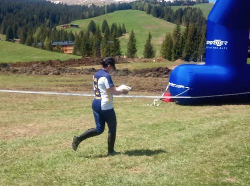 Martina Zweiker Relay of the Dolomites 2019
