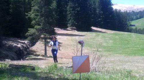 Martina Zweiker beim Lauf
