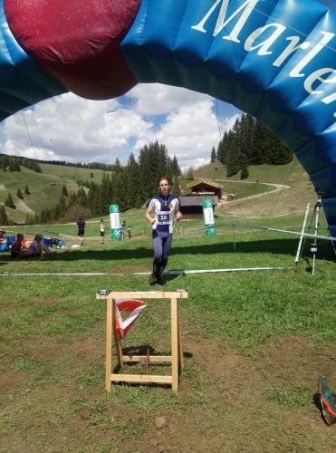 Zielleinlauf Relay of the Dolomites 2019 Andreas Angerer